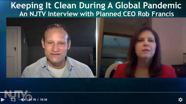 a thumbnail of Robert Francis' interview on NJTV